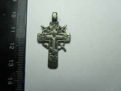Silver cross 17-18th century  Metal detector finds №460 100% original
