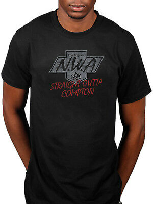 969261bb Official NWA Straight Out Compton T-Shirt Eazy E Niggaz4life 100 Miles And  Runni