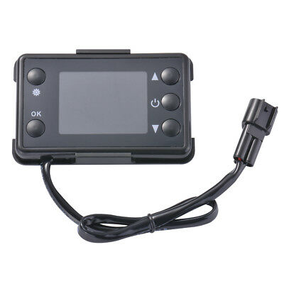 12V LCD Switch Parking Heater Controller Black for Car Track Air Heater MA1870