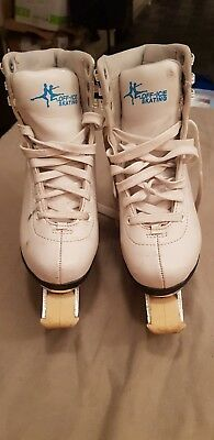 Off Ice Skates...Original Box...Boot cover..Size 2.