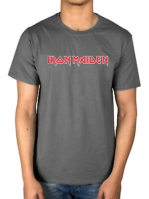 Official Iron Maiden Classic Logo T-Shirt The Number Of The Beast Powerslave Kil