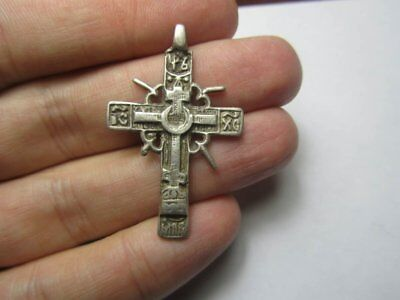 Silver cross 17-18th century  Metal detector finds №478 100% original