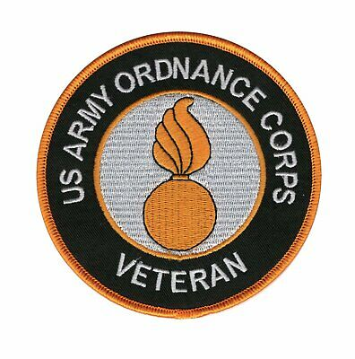 US Army Ordnance Corps Veteran Patch