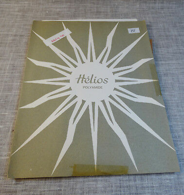 Bas HELIOS neuf. Polyamide, nylon.Voile sans couture.Bas vintage. Made in France