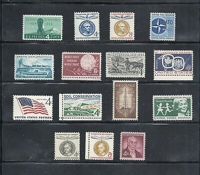 1959 - Commemorative Year Set - US Mint Stamps -NH