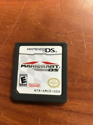 Mario Kart DS (Nintendo DS, 2005) CARTRIDGE ONLY GAME TESTED