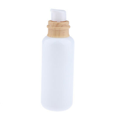 Glass Empty Pump Bottle Cosmetic Lotion Essential Oil Container for Travel