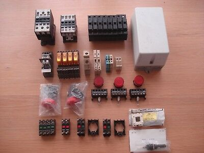 IMO Contactors Fuse Holders Relays Stop Indicator Lamps n/o n/c Contacts Job Lot