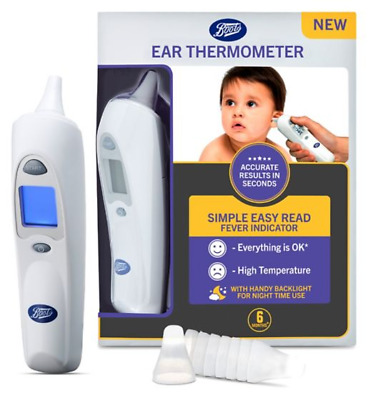 Pharmaceuticals Ear Thermometer - Easy to use with Back light - SALE ONLY £14.99