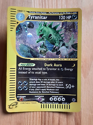 Tyranitar  29/165 HOLO* - Expedition (eng) (dk1073)