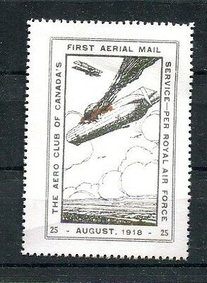 Canada, Airmail Semi-Official, 1918 (25¢) Aero Club of Canada