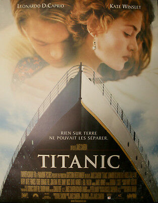 TITANIC Affiche Cinéma Originale ROULEE 53x40 Movie Poster James Cameron