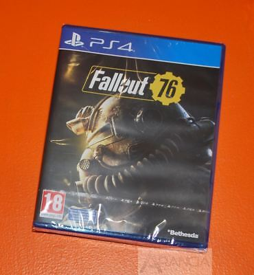 Fallout 76 PS4 New and Sealed