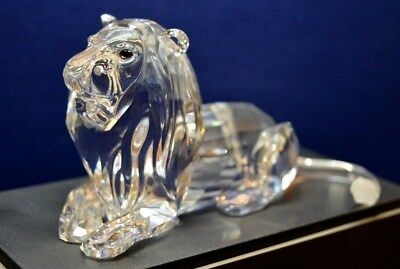Swarovski Annual Edition Lion 1995 - Immaculate - Inspiration Africa - Boxed