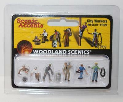 HO 1:87 Scale Woodland Scenics City Workers Scenics A1826 New FNQHobbys
