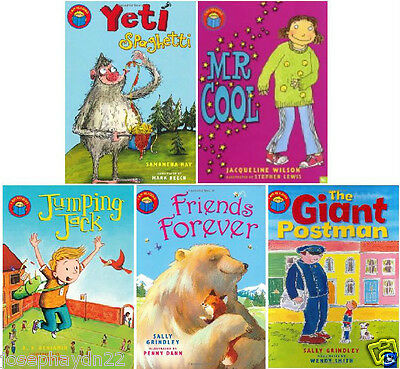 NEW x 5 I AM READING books Mr Cool Jumping Jack Friends Forever Yeti Spaghetti