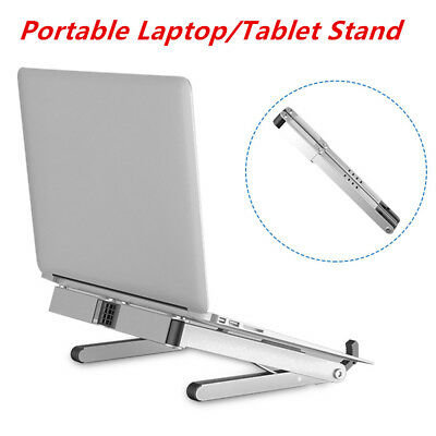 "Adjustable Ventilated 11"" to 15.6"" Laptop Stand Portable Notebook Tablet Holder"