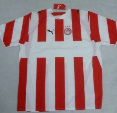 Olympiakos - Home Football Shirt - No Sponsor -  Greece - Puma - Xl Extra Large.
