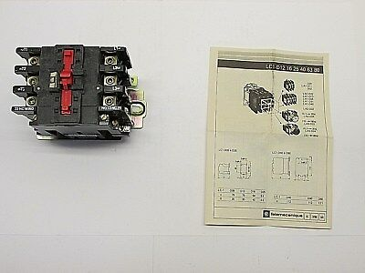 Telemecanique LC1-D633ZK H7 Contactor Switch Relay