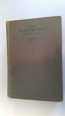 Vintage 1936  Gone with the Wind By MARGARET MITCHELL - Hardcover
