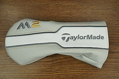 2016 TaylorMade Golf REAL M2 Driver Headcover White Gold Gray NEW