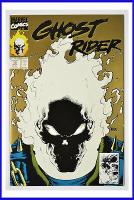 Ghost Rider #15 (Marvel, July 1991) Vol.2 Gold Cover NM+ Comic Book