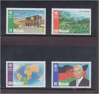 (Q25-22) 1983 Malawi 4stamps commonwealth collection MUH (22V)