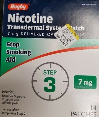 Rugby Nicotine Transdermal System Patch, Step 3
