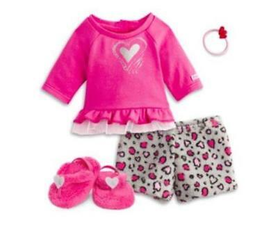 AMERICAN GIRL ~ Lovely Leopard Pj's Pajamas ~ new in ag box ~ Free Ship in US