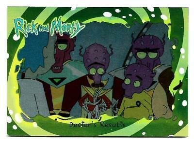 2018 Cryptozoic Rick and Morty Trading Cards Season 1 Silver Foil Board #14