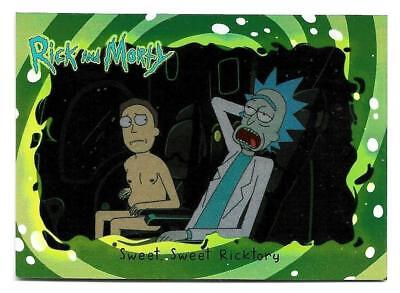 2018 Cryptozoic Rick and Morty Trading Cards Season 1 Silver Foil Board #15