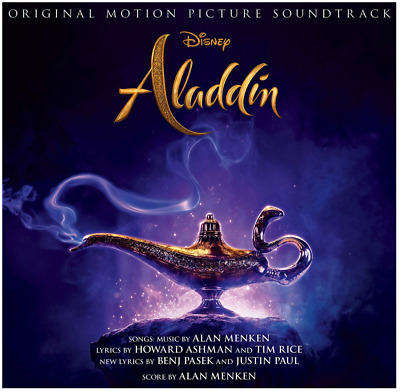 Aladdin (CD, 2019) • NEW •  Walt Disney Movie Soundtrack, A Whole New World