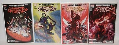 Amazing Spider-man #797-800 1st Print Red Goblin Go Down Swinging NM, Alex Ross