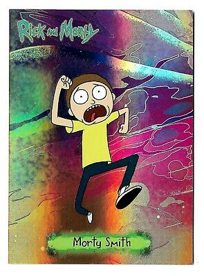2018 Cryptozoic Rick and Morty Trading Cards Season 1 Characters CB02 Morty