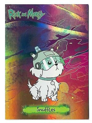 SDCC Cryptozoic Rick and Morty Convention Exclusive Characters CB10 Snuffles