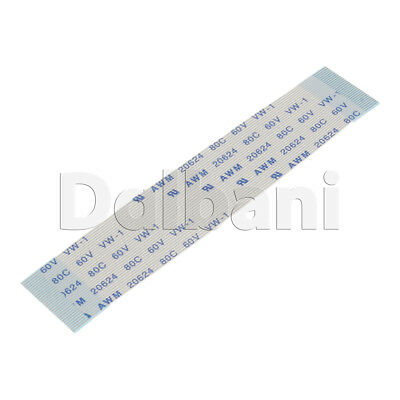 Flat Flexible Ribbon Cable Pitch 0.5 mm 30 Pin 80 mm Type A FFC