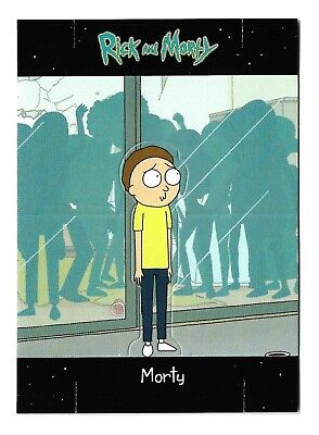 2018 SDCC Cryptozoic Rick and Morty Convention Exclusive E11 Morty Standee