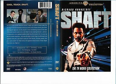 Shaft: TV Movie Collection (DVD, 4-Disc Set) Richard Roundtree, Tony Curtis -C52