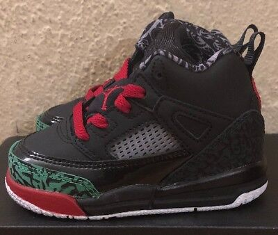 new product e8528 acf46 New Jordan Spizike 317701-026 BT Blk Varsity Red Size 4C