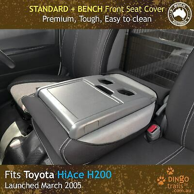 Fits Toyota HiAce Van H200 (2005-Now) STANDARD BUCKET BENCH Front Seat Cover