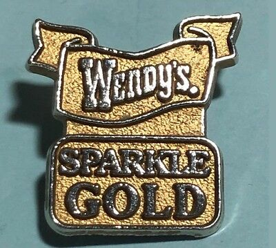 Wendy's Sparkle Gold -Employee Pin