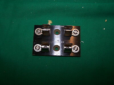 H.D. Industrial Aviation Double Fuse Block Holder -10mm Dia Fuses-LittleFuse 556