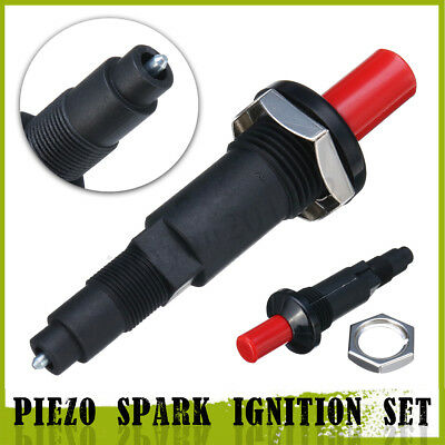 Piezo Spark Ignition Set Cable Push Button Igniter Fit Gas Grill BBQ Universal
