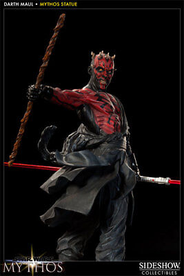 Star Wars Darth Maul Mythos Statue 263/2500 Sideshow BRAND NEW