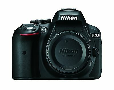 Nikon D5300 24.2 MP CMOS Digital SLR Camera with Built-in Wi-Fi and GPS Body ...