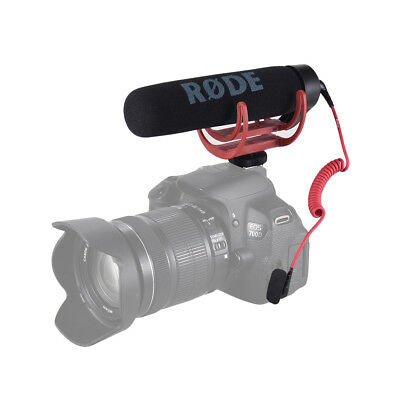 RODE Go Super Cardioid Microphone Lightweight On-Camera Mic for Canon DSLR M7M2