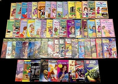 Paperback Chapter Books 2nd 3rd Grade Reading Level 57 Books Huge