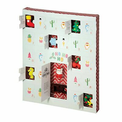 ERASE IT! XMAS ADVENT CALENDAR - Festive Kids Eraser Gift Fun **FREE DELIVERY**