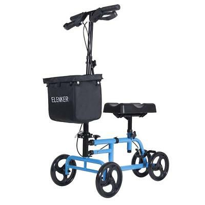 Steerable Knee Walker Medical Scooter Folden Leg Scooter Duty Crutch Alternative