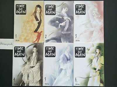 Time and Again complete manga series by Jiun Yun (Published by Yen Press)